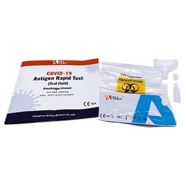 alltest covid 19 antigen rapid test for self testing (oral test) 2