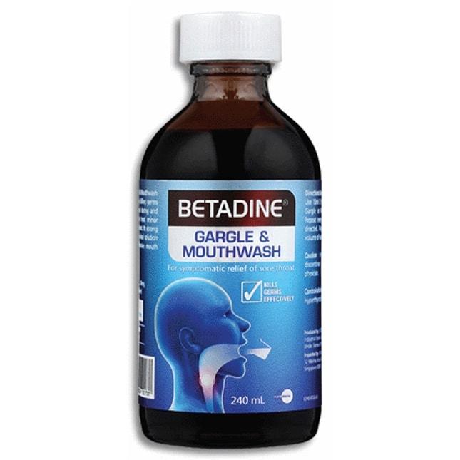 betadine gargle and mouthwash gargle