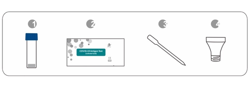 lituo covid 19 antigen detection kit (colloidal gold) self test kit content