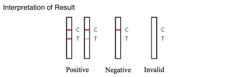 newgene bioengineering covid 19 antigen detection kit sample result
