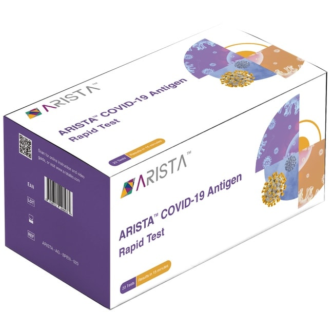 arista covid 19 antigen rapid test