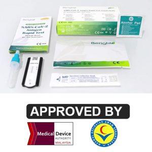 beright sars cov 2 antigen rapid test (nasal swab) for self testing