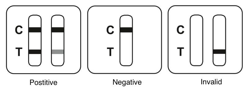 beright sars cov 2 antigen rapid test (nasal swab) for self testing interpreting result