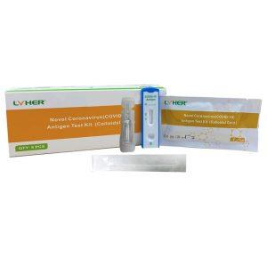 lyher® novel coronavirus (covid 19) antigen test kit (colloidal gold)