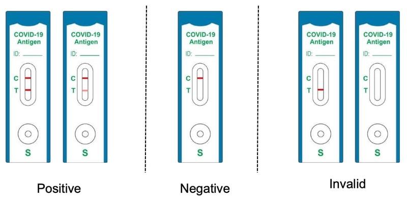 lyher® novel coronavirus (covid 19) antigen test kit (colloidal gold) interpret result